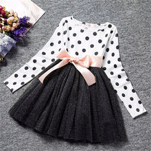 Load image into Gallery viewer, Girl Party Wear Children Clothes Dress Girl Boutique Clothing Little Princes Kids Dresses For Girl Shirt Tops Dress