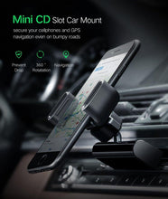 Load image into Gallery viewer, Car Phone Mount CD Slot Car Phone Holder for iPhone 8 Magnetic Holder Stand Clip Cell Phone Holder for Huawei Tablet GPS