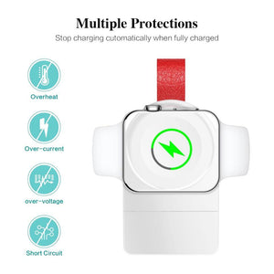 Wireless Charger for Apple Watch 4 Charger Magnetic Wireless Charging USB Charger for Apple Watch 4 3 2 1 Portable