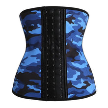 Load image into Gallery viewer, Camouflage Waist Trainer Corset Slimming Belt Body Shapers Corset Modeling Strap Slim Corset Steel Bone Waist Cincher