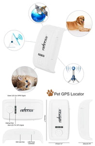 Pet Tracker With Collar/Charger TK909 Waterproof Global Locator Real Time Mini GPS Tracker For Dog/Cat  Free IOS /Andriod App