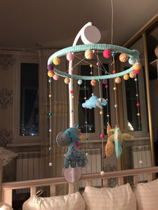 Baby toys White Rattles Bracket Set Baby Crib Mobile Bed Bell Toy Holder Arm Bracket Wind-up Music Box