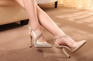 sexy high heels shoes women brand design high heels night club rhinestone women pumps high heels party wedding shoes heels