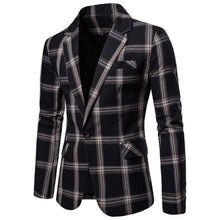 Load image into Gallery viewer, Men Casual Blazer Cotton Coat Jacket Slim Fit Men's Classic Smart Casual Blazer For Male