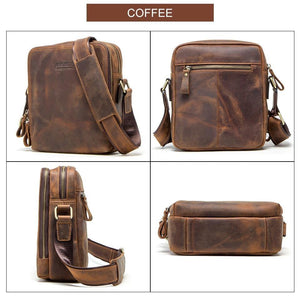 genuine leather men's bag for ipad male messenger bags casual man shoulder bag crossbody bags for men