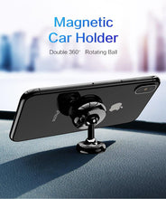 Load image into Gallery viewer, Magnetic Car Phone Holder Mount Stand Double 360 Rotatable Ball Car Holders For iPhone Samsung Cell Mobile Phone Holder