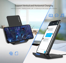 Load image into Gallery viewer, 10W Qi Wireless Charger For iPhone 8 X Xs For Samsung Galaxy S10 Plus S8 S9 S7 Edge Fast Charger Wireless Charging Dock