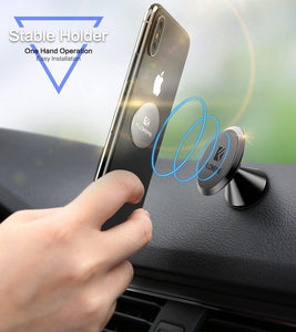 Magnetic Car Phone Holder Cool Air Vent Mount Stand For Samsung S9 S8 GPS Navigator Support Holder For Phone in Car