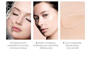 Waterproof Drop Foundation Liquid Faces Makeup Oil control Concealer Cosmetics Matte Foundation Velvet Texture