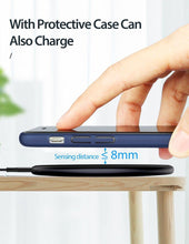 Load image into Gallery viewer, 15W Qi Wireless Charger for Samsung S9 S10 iPhone X XS MAX XR 8 Plus for Xiaomi 9 Huawei P30 pro 10W Wireless Charging
