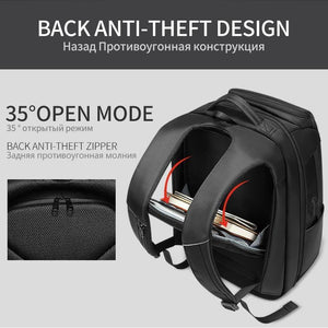 Travel Backpack Men Multifunction Large Capacity Male Bags USB Charging Port 17.3 inch Laptop Backpacks