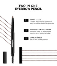 Load image into Gallery viewer, Eyebrow 4 Colors Waterproof Eyebrow Long Lasting Eye brow Tattoo Pencil Durable Black Brown Smudge-proof Eye Brow Pencil