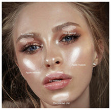 Load image into Gallery viewer, Highlighter Liquid Illuminator Face Highlight Makeup Shimmer Glow Liquid Highlighter Brighten Face Skin Glitter Cosmetic