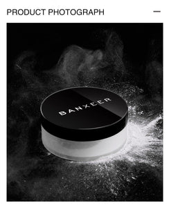 Smooth Loose Powder Makeup Transparent Finishing Oil Control Waterproof For Face Finish Setting With Cosmetic Puff