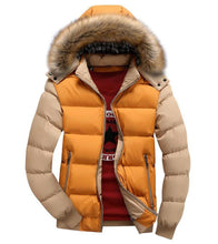 Load image into Gallery viewer, Winter Jacket men Warm male Coats Fashion Thick Thermal Men Parkas Casual Men