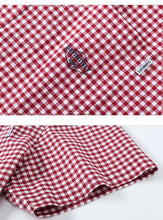 Load image into Gallery viewer, summer new short-sleeve shirt male Korean version cotton retro check student Japanese shirt tide