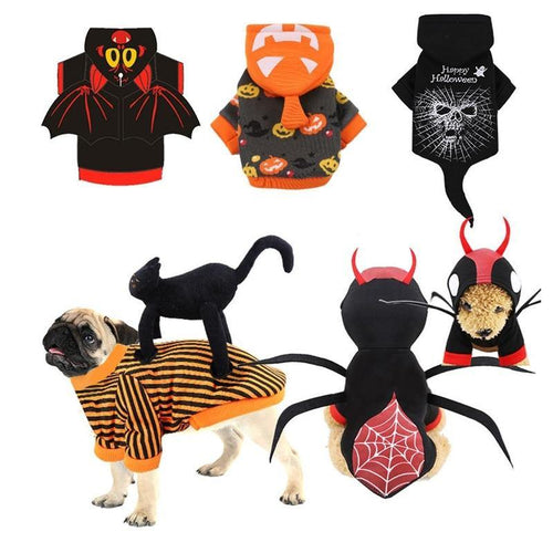 Halloween  Christmas New Year Dog Clothes for Dogs Cat Chihuahua Winter Dog Coat  Pet Clothing for Small Dogs Cats Clothes Christmas