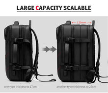 Load image into Gallery viewer, Men Travel Backpack Expandable Large Capacity Male Bag USB Charging 15.6 inch Laptop Backpack Waterproof