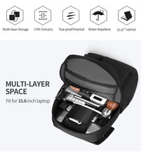 Load image into Gallery viewer, Men 15.6 inch Laptop Backpacks School Fashion Travel Male Mochilas Feminina Casual Women Schoolbag