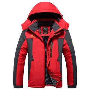 Two Pieces Winter jacket men Windbreaker Waterproof warm outwear thicken snow ski parka coats