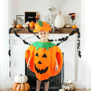Halloween Cosplay Costume Dress Party Pumpkin Clothes Halloween Costume For Kids Children's Halloween Gift Party Supplies