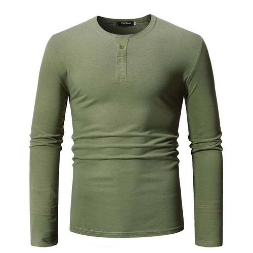 Men's Long Sleeve T-shirt Spring summer men Casual Curved t shirts O-neck solid t-shirt Men Cotton Polyester Tees US size