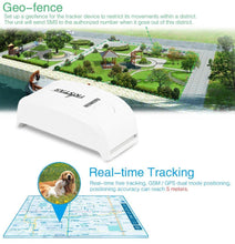 Load image into Gallery viewer, Pet Tracker With Collar/Charger TK909 Waterproof Global Locator Real Time Mini GPS Tracker For Dog/Cat  Free IOS /Andriod App