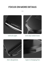Load image into Gallery viewer, Qi Wireless Charger Stand for iPhone 11 Pro X XS 8 XR Samsung S9 S10 S8 S10E Fast Wireless Charging Station Phone Charger