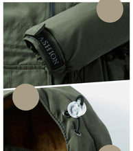 Load image into Gallery viewer, Military Cargo Jacket Men Bomber Jacket Cotton winter thick wool liner Pilot Army Parka Coat Combat Tactical Male Work overcoats