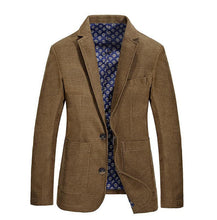 Load image into Gallery viewer, Men's Casual Blazer Brand Fashion Male Fit Slim Jacket Coat Men Blazer