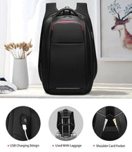 Load image into Gallery viewer, 15.6 inch Laptop Backpack Anti-theft for Teenage Male Mochila Multifunction USB Charging Port Travel Backpacks Men