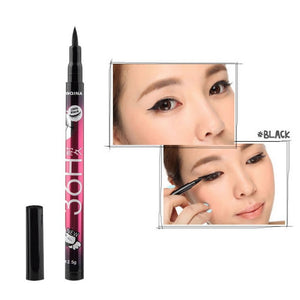 Liquid Eyeliner Pencil Waterproof Black Makeup Long-lasting Easywear Eye Liner Pen Cosmetic