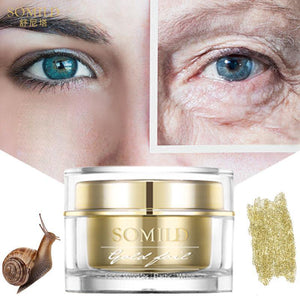 Gold Cream Anti Aging Wrinkle Removal Face Cream Moisturizing Whitening Serum Facial Korean Snail Essence Cream