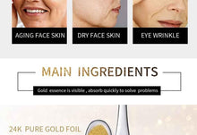 Load image into Gallery viewer, Gold Cream Anti Aging Wrinkle Removal Face Cream Moisturizing Whitening Serum Facial Korean Snail Essence Cream