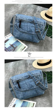 Load image into Gallery viewer, Vintage Crossbody Bags For Women Casual Denim Flap Small Women's Shoulder Bags Ladies Shopping Bag Sac a main