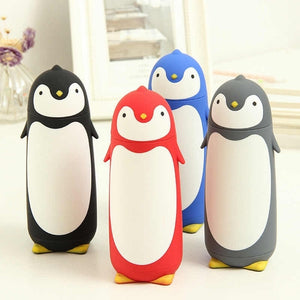 Penguin Stainless Steel Thermos Vacuum Flasks Cartoon Thermocup Portable Thermal