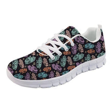 Load image into Gallery viewer, Colorful Om Shoes Woman flat Casual Women's Sneakers Chaussures Femme Student Comfortable Walking Shoes Women flat