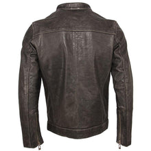 Load image into Gallery viewer, Men's Leather Jacket 100% Calfskin Leather Jacket For Men Genuine Leather Coat Cow Skin Male Jacket Cowhide