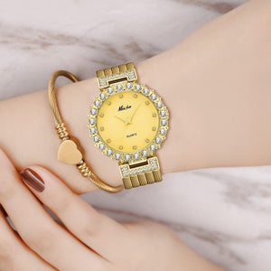 Women Watches Luxury Watch Bracelet Waterproof Big Lab Diamond Ladies Wrist Watches
