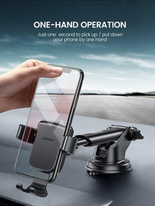 Car Phone Holder No Magnetic Gravity Stand in the Car Suction Cup Support Holder for Your Mobile Phone Xiaomi iPhone X 11