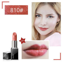 Load image into Gallery viewer, Red Nourish Matte Lipstick Set Make-Up For Women Easy To Color Lasting  Waterproof Lip Gloss Cosmetics Beauty Makeup 3.8g