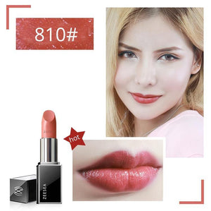 Red Nourish Matte Lipstick Set Make-Up For Women Easy To Color Lasting  Waterproof Lip Gloss Cosmetics Beauty Makeup 3.8g