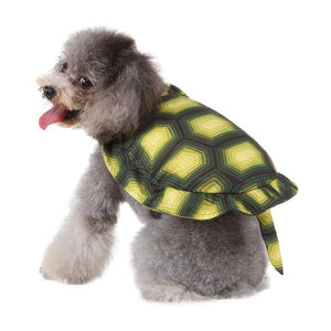 Christmas New Year Dog coat  Pet Tortoise Clothes Christmas Halloween Cosplay Costum For Puppy Funny Party Dress Up Accessories