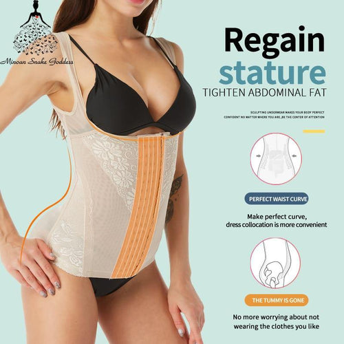 waist trainer Women Shaper Corset Slimming Underwear body shaper Shapewear Underwear Corrective Cincher Shaper Tummy shaper