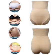 Load image into Gallery viewer, High Waist Tummy Control Panties Abdomen Slimming Shapewear Waist Trainer Body Shaper Butt Lifter Sculpting Modeling Underwear
