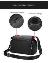 Load image into Gallery viewer, Men & Women Shoulder Bag for Teenage Short Trips Casual Messenger Bags PVC Finish Business Crossbody Bag Male