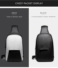 Load image into Gallery viewer, Short Trip Chest Pack Casual Messengers Bags Water Repellent Chest Bag Shopping Travel Crossbody Bags Male