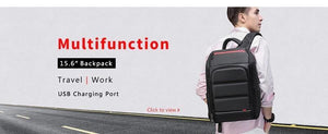 Travel Backpack Men 15.6 inch Laptop Multifunction Large Capacity Backpacks Water Repellent Business Backpack