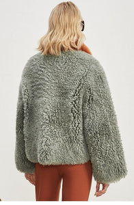 real fur coat winter jacket women Merino Sheep Fur real Genuine Leather liner Thick Warm natural Fur parka