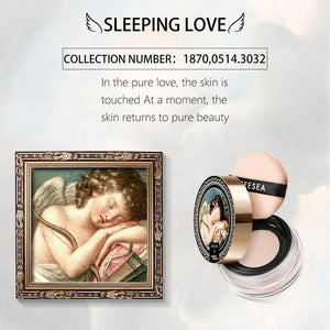 The British Museum Angel Cupid Collection Loose Powder Oil-control Makeup Skin Powder Face Concealer Smooth cosmetics
